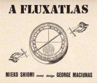 Mieko Shiomi. A fluxatlas: Spatial Poem 1965 (facsímile de 1992). Cartel