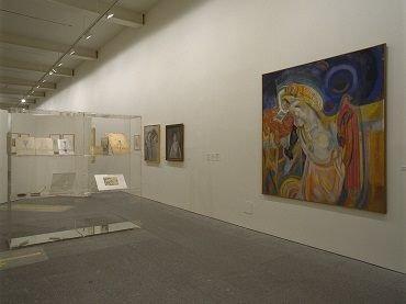 Exhibition view. Los ismos de Ramón Gómez de la Serna y un apéndice circense, 2002