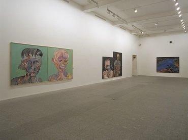 Exhibition view. Bhupen Khakhar, 2002