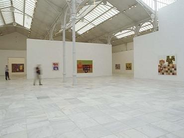 Vista de sala de la exposición. Jonathan Lasker, 2003