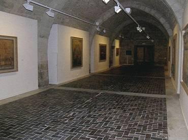 Exhibition view. Lucio Muñoz en Silos, 2006