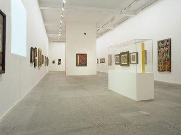 Vista de sala de la exposición. André Masson (1896-1987), 2004