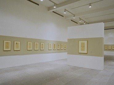 Vista de sala de la exposición. Modigliani. La colección Paul Alexandre, 1995