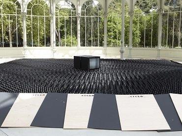Vista de sala de la exposición. Nacho Criado. Agentes Colaboradores, 2012