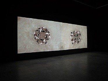 Exhibition view. Alberto Peral. Dancing, 2007