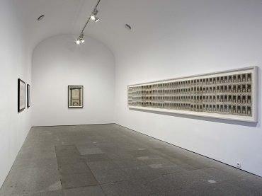 Exhibition view. Martín Ramírez. Martín Ramírez. Reframing Confinement, 2010