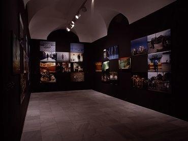 Exhibition view. Rax Rinnekangas. Spiritus Europaeus. Tradición, 2003