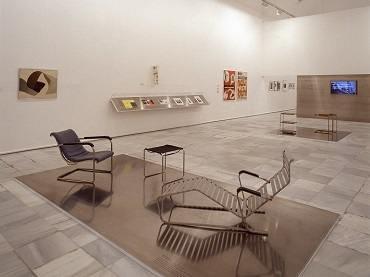 Vista de sala de la exposición. Suiza constructiva, 2003