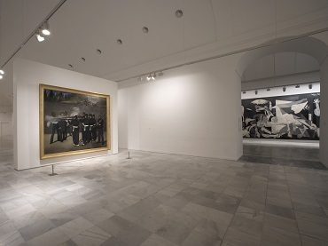 Vista de sala de la exposición. Picasso. Tradición y vanguardia, 2006
