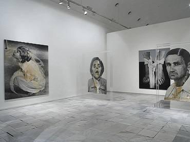 Exhibition view. Darío Villalba. Una visión antológica 1957-2007, 2007