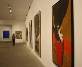 """Sala """"La pintura al final de la modernidad"""", en la Planta 4 del Museo Reina Sofía, 2010"""