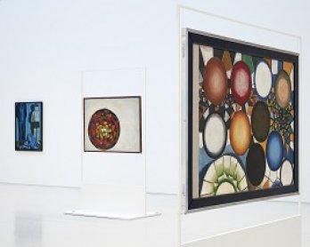 Vista de sala de la exposición Andrzej Wróblewski. Recto / Verso, 2015