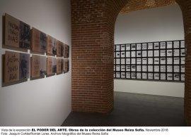 Vista de la exposición El poder del Arte en el Congreso