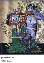 Patricia Gadea. Pata con teléfono, 1986. Colección particular