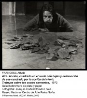 Francesc Abad. Aire, 1972