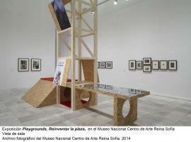 Vista de sala/gallery view de la exposición Playgrounds. Reinventar la plaza (imagen 4)