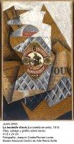 Juan Gris. La bouteille d'anis, 1914