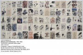 Luis Gordillo. Dibujos post-abstractos