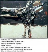 Manuel Millares. Cuadro173 / Picture 173, 1962