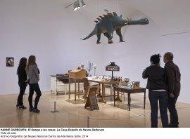 Vista de sala / gallery view El tiempo y las cosas. La casa-estudio de Hanne Darboven (imagen 4)