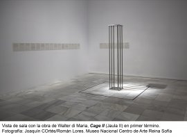Walter de Maria, Cage II (Jaula II), 1965