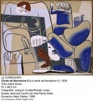 Le Corbusier. Chute de Barcelone II, 1939