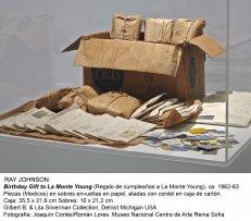 Ray Johnson, Birthday Gift to La Monte Young (Regalo de cumpleaños a La Monte Young), ca. 1962-63