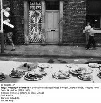 Chris Killip. Royal Weeding Celebration, North Shields, Tyneside.1981