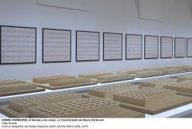 Vista de sala / gallery view El tiempo y las cosas. La casa-estudio de Hanne Darboven (imagen 7)