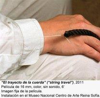 Leonor Antunes. camina por ahí. mira por aquí / Walk around there. look through here(imagen 08)