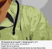 Leonor Antunes. camina por ahí. mira por aquí / Walk around there. look through here(imagen 09)