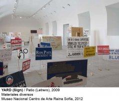 imagen de  rueda prensa de exposición Sharon_Hayes
