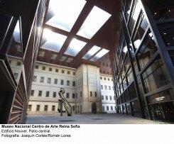 Museo Reina Sofía. Edificio Nouvel. Patio