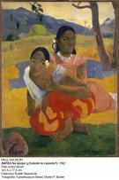 Paul Gauguin. ¿Cuándo te casarás?, 1892