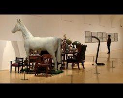 Imágenes (brutos) de la exposición El tiempo y las cosas. La casa estudio de Hanne Darboven