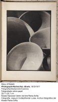 Fotografía/Abstracción/Cuencos (1915-1917). Paul Strand