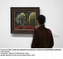 Dalí. Todas las sugestiones poéticas y todas las posibilidades plásticas, vista de sala / gallery view (imagen 3)