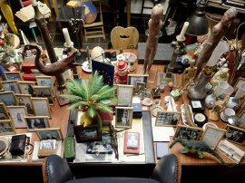 Inside view of Hanne Darboven's studio. Courtesy: Hanne Darboven Foundation, Hamburgo. Photographer: © Felix Krebs