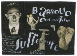 Babaouo es una película surrealista, 1932. Collage para el cartel de la película. © Salvador Dalí. Fundació Gala – Salvador Dalí, VEGAP, Madrid, 2013