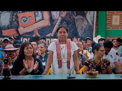 Luciana Kaplan, La vocera. Película, 2020