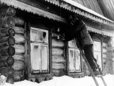 Dziga Vertov. Kino-pravda: 23. Radiopravda [Cine-Verdad: 23. Radioverdad], Película, 1925.  Cortesía del Austrian Film Museum \ De la Colección especial Dziga Vertov