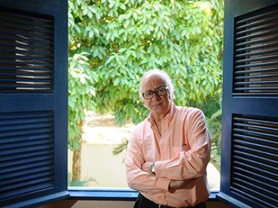 Photography of Professor Boaventura de Sousa Santos