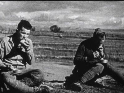Henri Cartier-Bresson and Herbert Kline. The Abraham Lincoln Brigade in Spain, 1938. Copy provided by the Abraham Lincoln Brigade Archives, New York