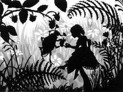 Lotte Reiniger.Daumelinchen (Pulgarcita). Reino Unido, 1954