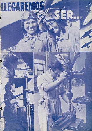 """""""Llegaremos a ser..."""", Muchachas, n.º 5, 24 de julio de 1937. Madrid: Alianza de las Muchachas Madrileñas, 1937. Hemeroteca Municipal del Ayuntamiento de Madrid"""