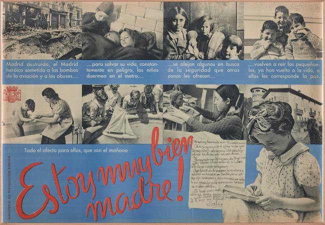 Anónimo, Estoy muy bien madre!, ca. 1937. Fondos del Centro de Documentación del MNCARS