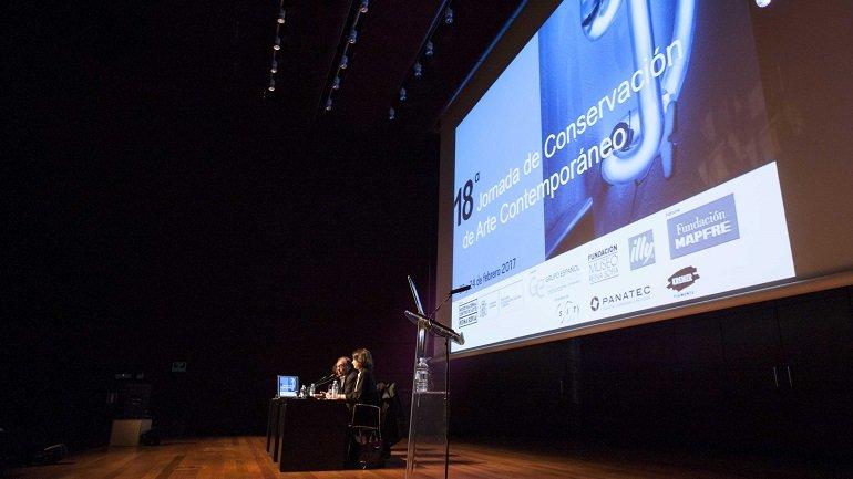 Presentación y apertura de la 18ª Jornada de Conservación de Arte Contemporáneo