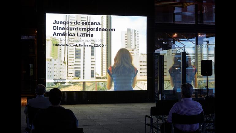 Sesión del ciclo Juegos de escena. Cine contemporáneo en América Latina