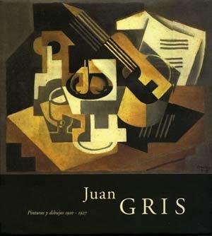 Portada del catálogo de la exposición Juan Gris. Pinturas y dibujos 1910-1927. Museo Reina Sofía, 2005