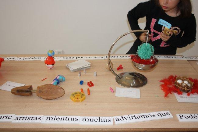 Momentos de la actividad. Museo Reina Sofía, 2009.